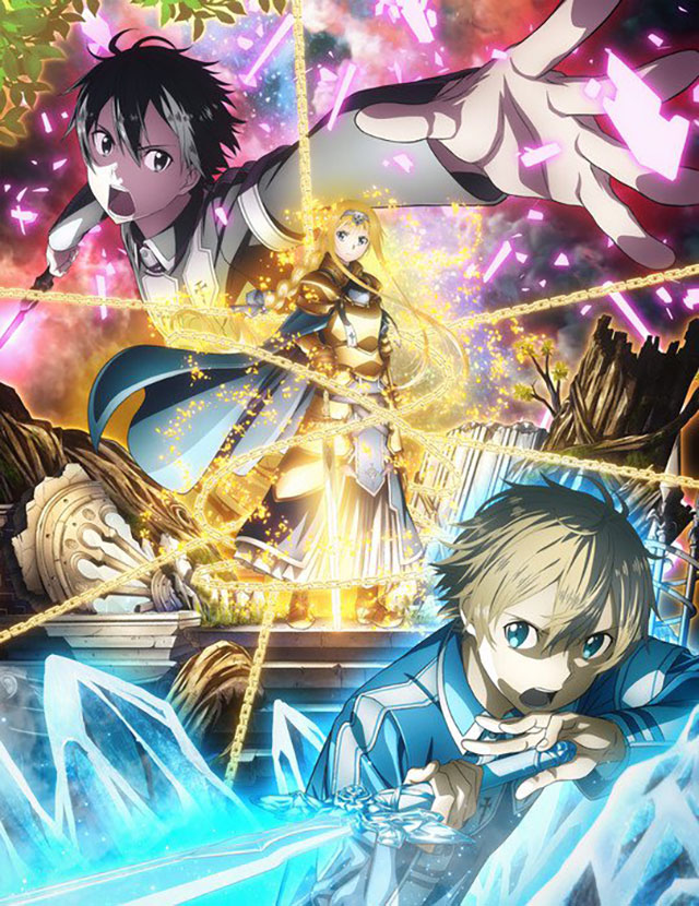 Sword Art Online: Alicization Sub Español [15-¿?] [MG-MF-GD] [HD-HDL]