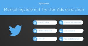 digitalpiloten: Marketingziele mit Twitter Ads erreichen