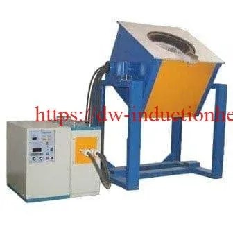 Electric induction melting furnace