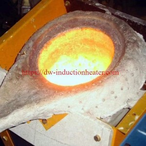 induction smelting copper process