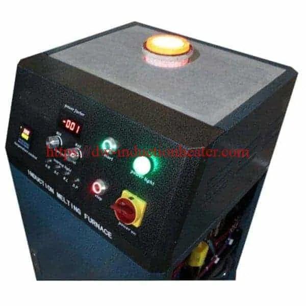 Stationary gold melting furnace induction manufacturer and