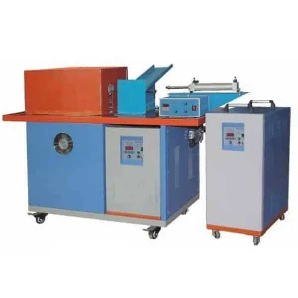 induction forging rod furnace with semi