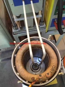 shrink fitting stator and rotor
