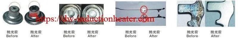 magnetic deburring & polishing machine