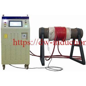 Induction post weld heating treatment machine