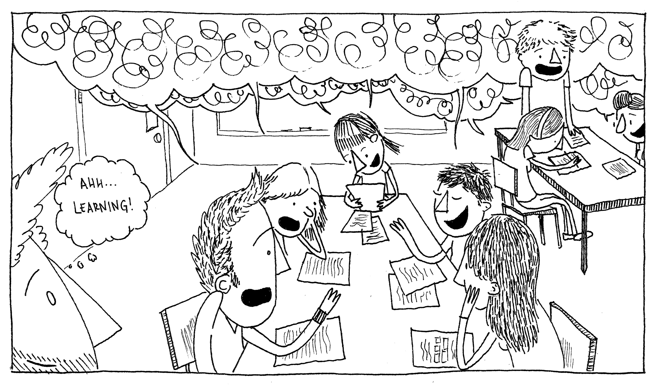 Guest Post The Silence Of Cartooning Observations From