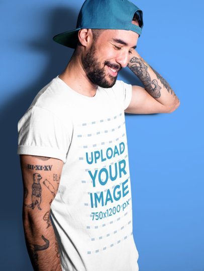 Advertisement please copy/paste the following text to properly cite this howstuffworks. Placeit Tattooed Man Covering His Face While Wearing A T Shirt Mockup