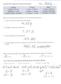 Easy Dimensional Analysis Worksheet Key | goodsnyc.com