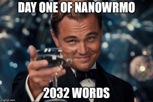 nanowrmo