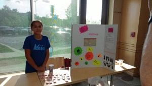 At science fair