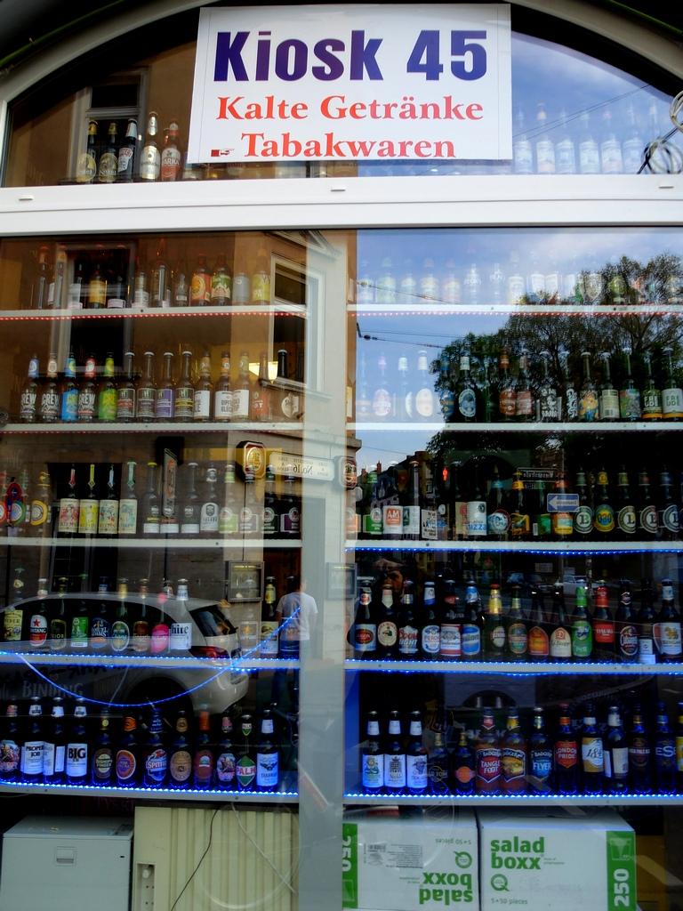 """Ponieważ z lankijskimi właścicielami sklepu od niedawna mówimy sobie na """"ty"""", bardzo zachęcam do wizyty w """"Kiosk 45"""" przy Wiesenstrasse 45."""