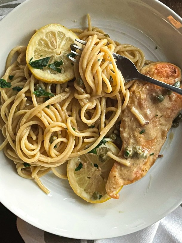 Creamy chicken piccata weight watchers recipe