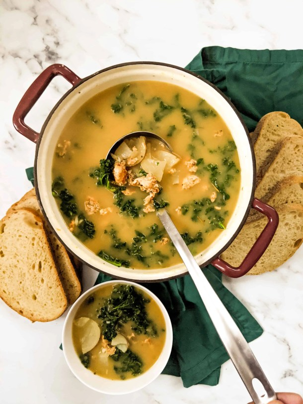 Dwardcooks Healthy Zuppa Toscana Olive Garden Copycat Recipe