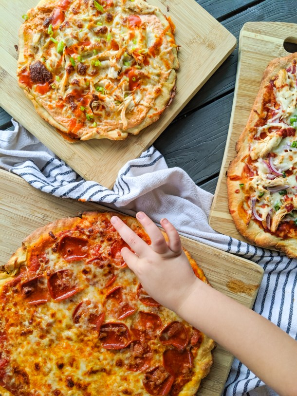 Greek yogurt pizza dough weight watchers