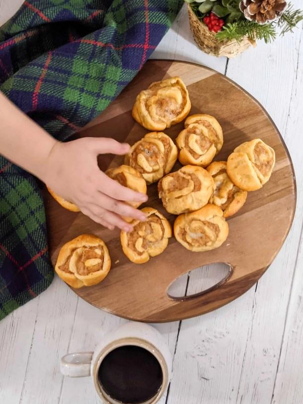 how to make turkey sausage pinwheels