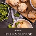 Dwardcooks Italian Sausage Turkey Burgers Pinterest