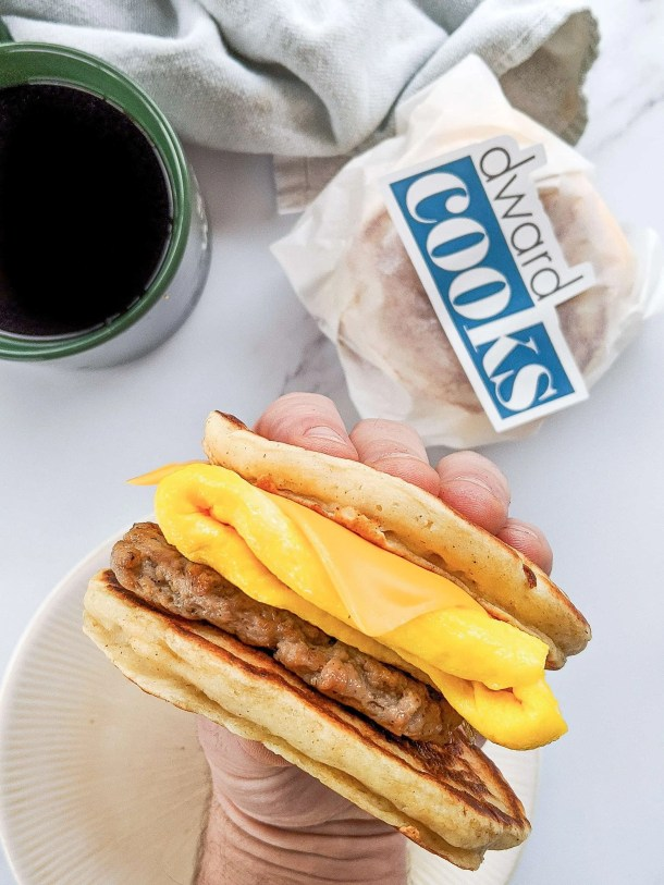 Dwardcooks healthy homemade mcgriddles sausage
