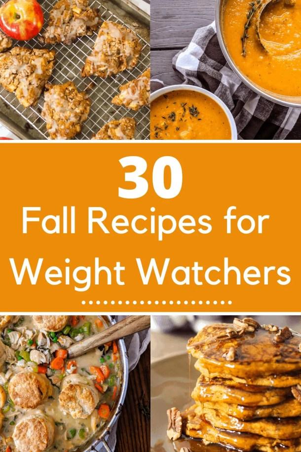 30 Fall Weight Watchers Recipes Pinterest