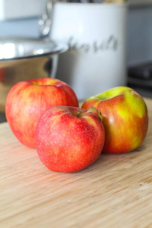 The best apples for baking honeycrisp