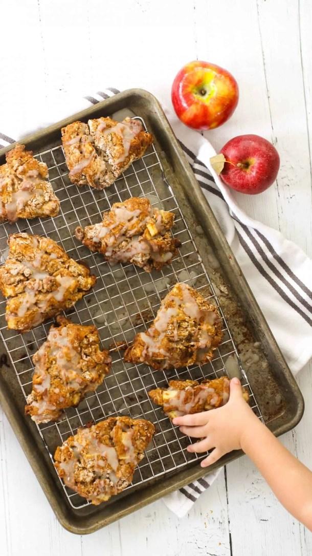 Dwardcooks Healthy Apple Scones WW recipe