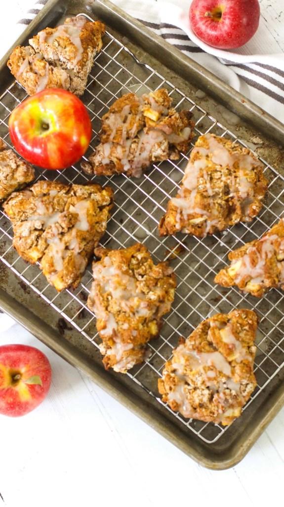 Dwardcooks Healthy Apple Scones