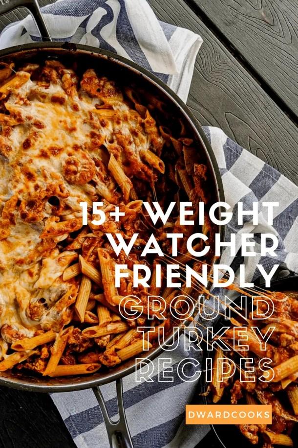 15+ Weight watcher FRIENDLY turkey recipes