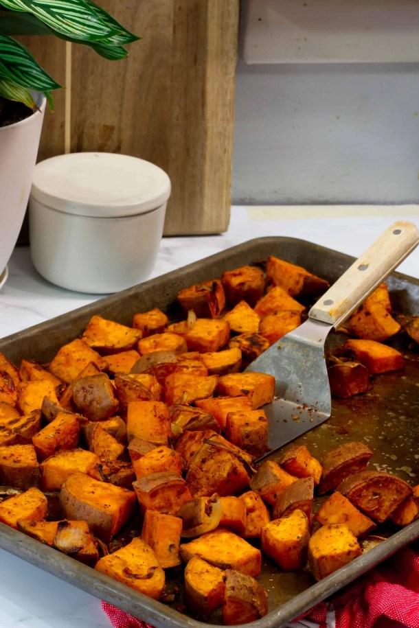 Oven Roasted Sweet Potatoes Whole30