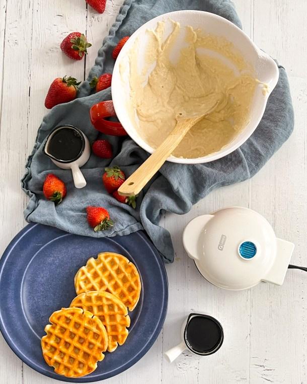 weight watchers waffle ingredients