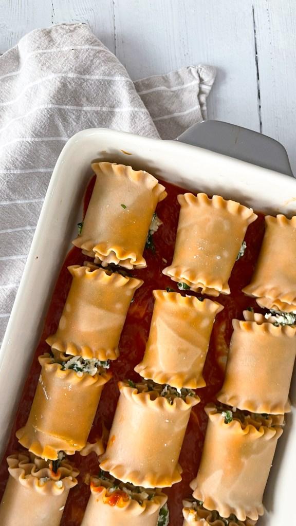 freezing lasagna roll ups