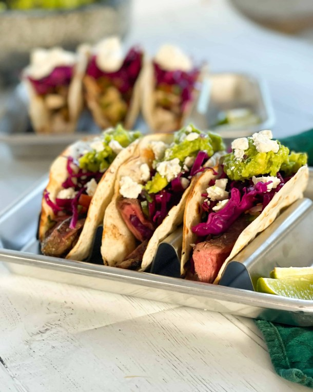 Grilled Mojo Steak Tacos Weight Watchers