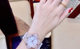 Đồng hồ Hublot nữ trắng
