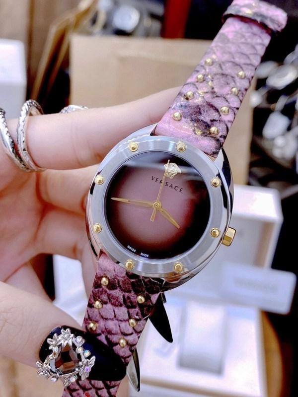 Đồng hồ Versace mặt tròn