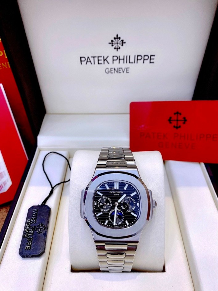 Đồng hồ Patek Philippe nam dây kim loại