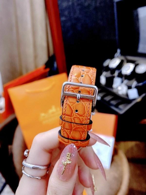 Đồng hồ nữ Hermes dây da