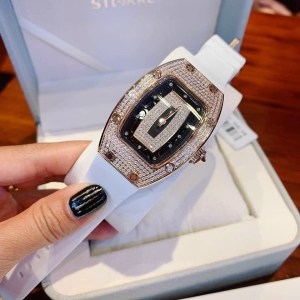 Đồng hồ Huboler nữ màu trắng