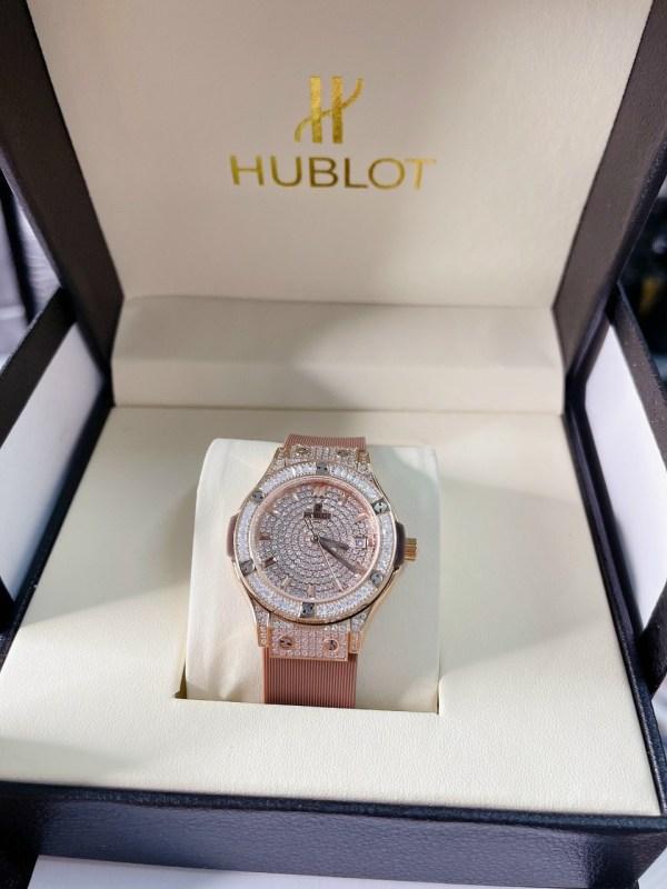 Đồng hồ Hublot nữ đính đá
