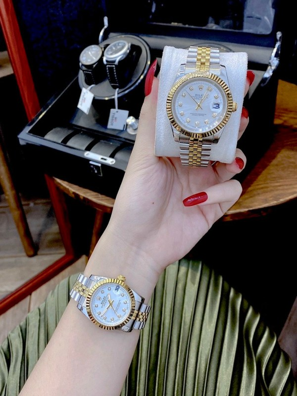 Đồng hồ Rolex đôi nam nữ