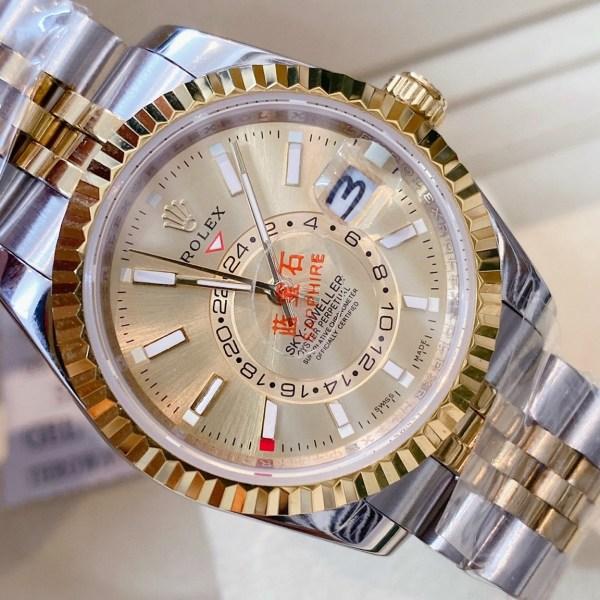 Đồng hồ Rolex mặt tròn