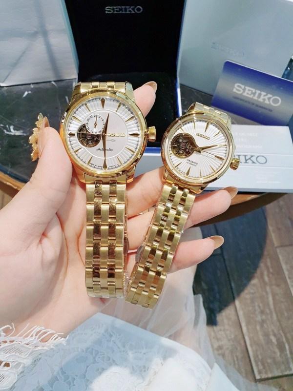 Đồng hồ Seiko đôi nam nữ