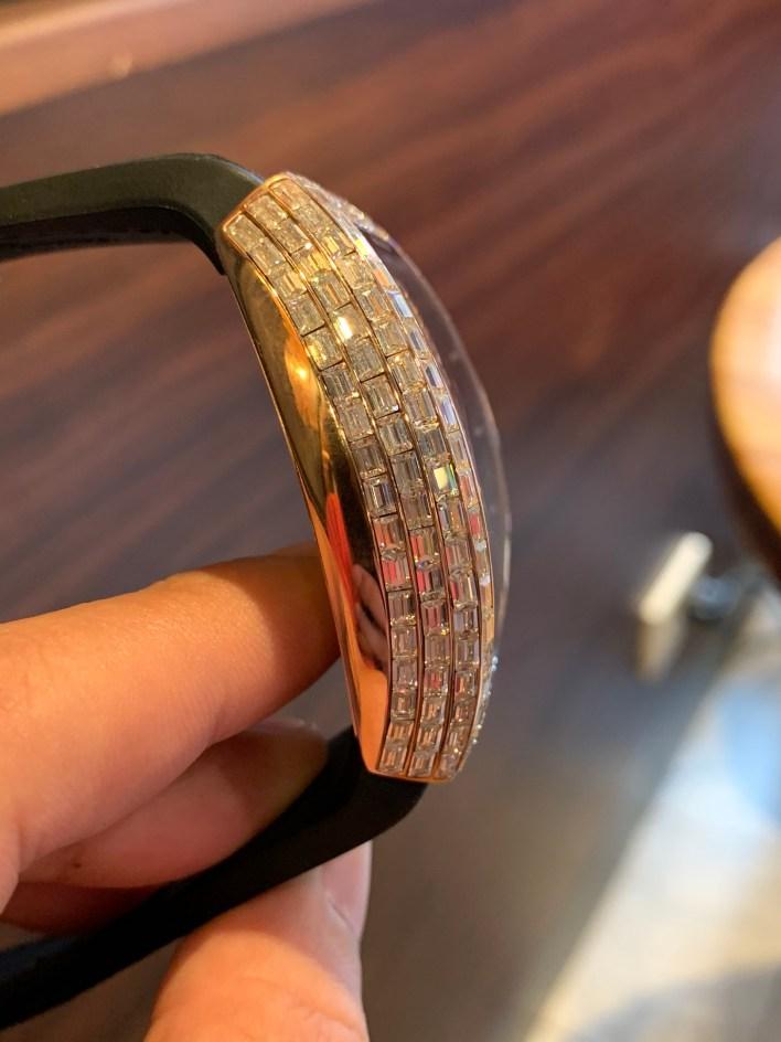 Đồng hồ Franck Muller nam đính full kim cương
