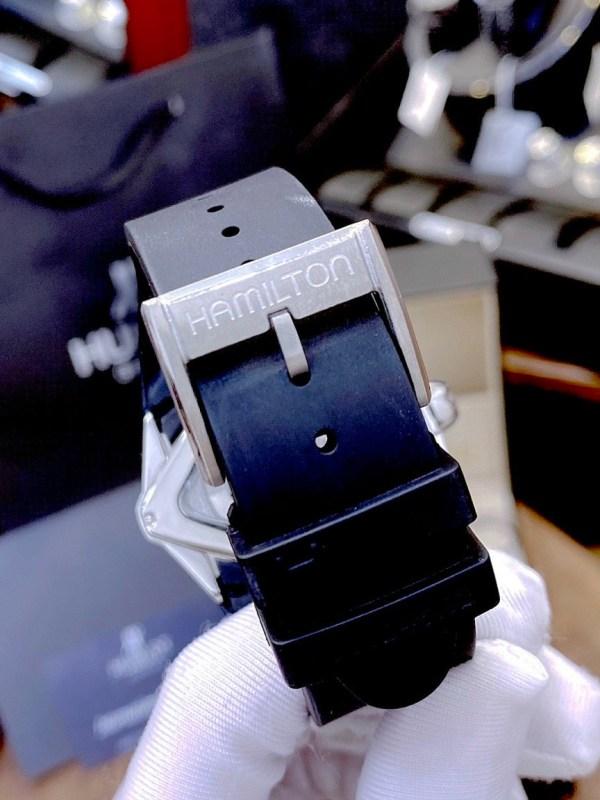 Đồng hồ Hamilton nam dây cao su