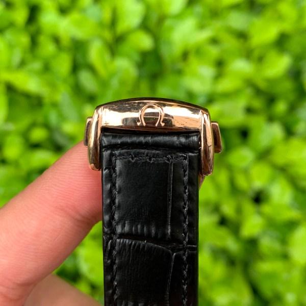 Đồng hồ Omega nam dây da