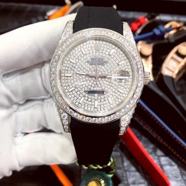 Đồng hồ cơ nam Rolex fake 11