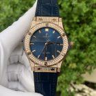 Đồng hồ Hublot Classic Fusion King Gold Full Diamond
