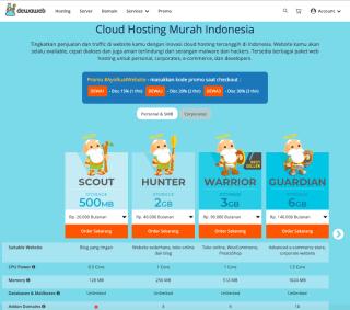 Cara Membuat Website - Hosting murah Dewaweb