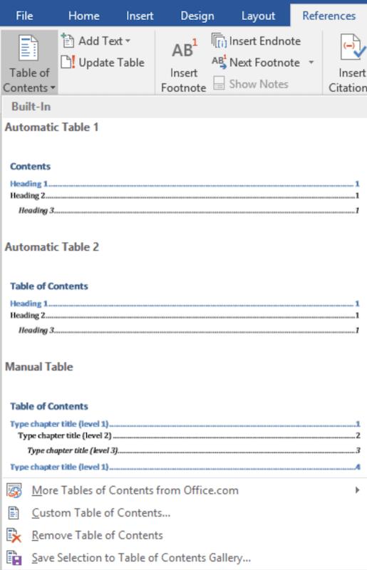 Cara Memberi Titik Titik Pada Daftar Isi : memberi, titik, daftar, Membuat, Daftar, Secara, Otomatis, Manual