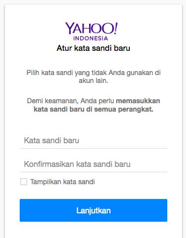 Ganti Password Yahoo : ganti, password, yahoo, Ganti, Password, Yahoo