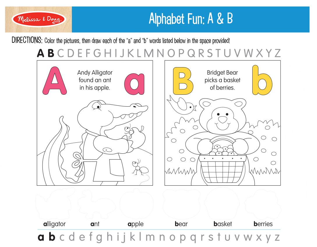 Fun Printables To Help Kids Practice Their Abc S