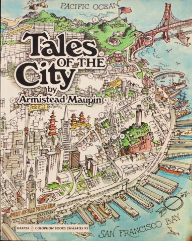 Image result for tales of the city cover