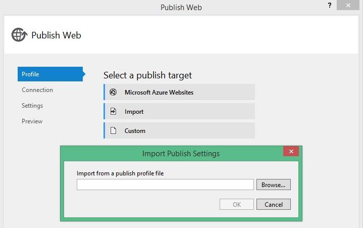 Step 3 - Click Import